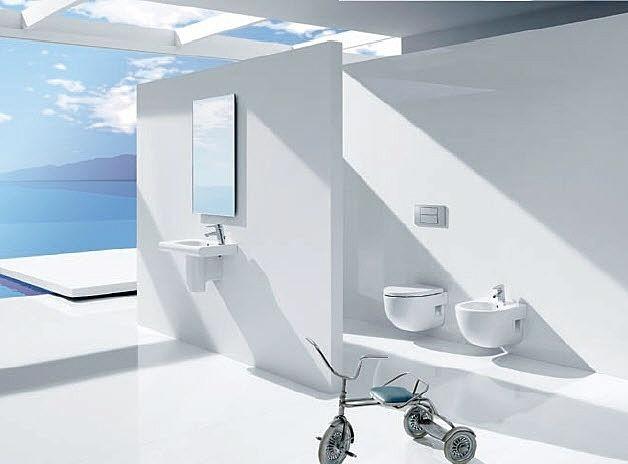 Baños Con Vista Al Mar:El baño con vistas al mar