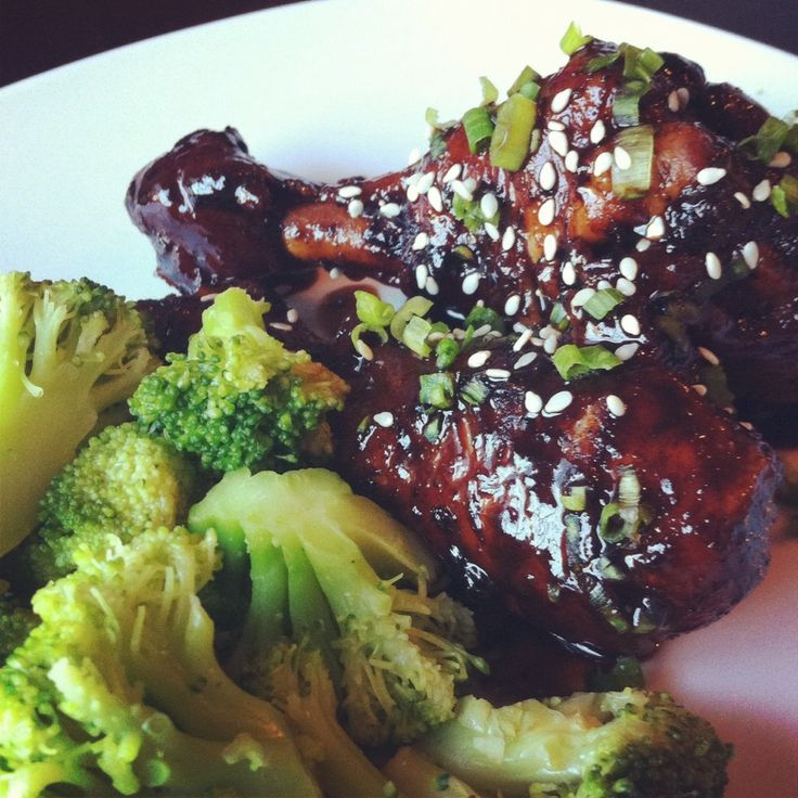 asian glazed chicken legs | The Main Event | Pinterest
