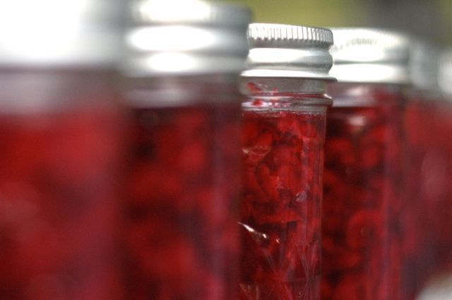 Sour Cherry Preserves Recipe. I have a pie cherry tree in the yard and ...