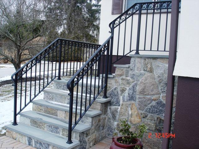 Decorative wrought iron railing wrought iron railings for Decorative railings
