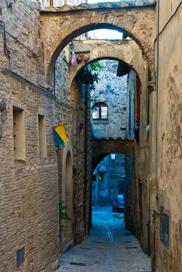 Forgotten Italy, the village of Amelia in Umbria.