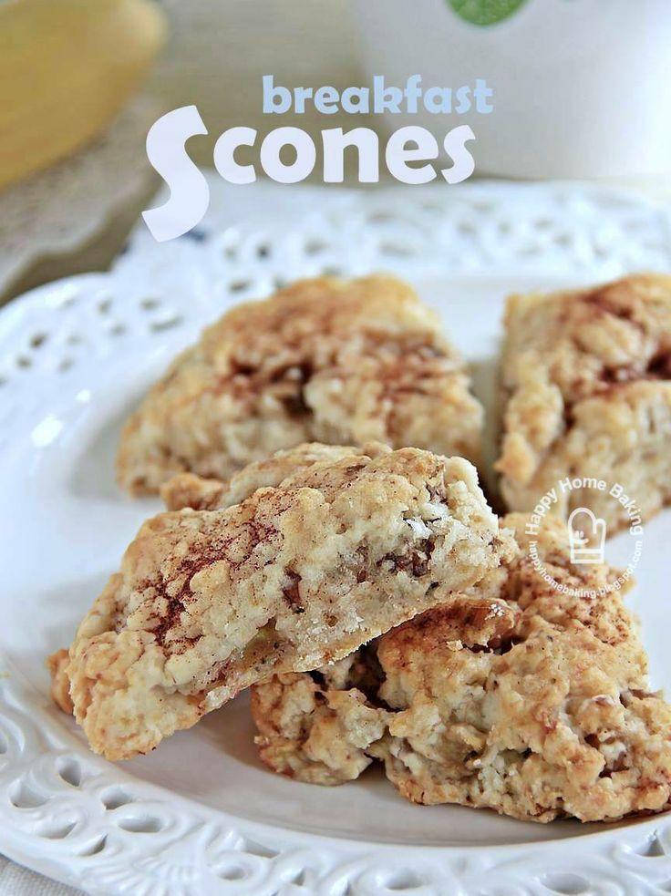 Banana Walnut Scones | Scones & Biscuits | Pinterest