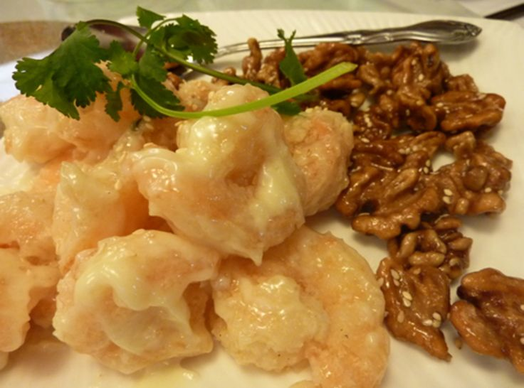 Honey Walnut Shrimp | Food to Try - Fish, Seafood, Etc. | Pinterest