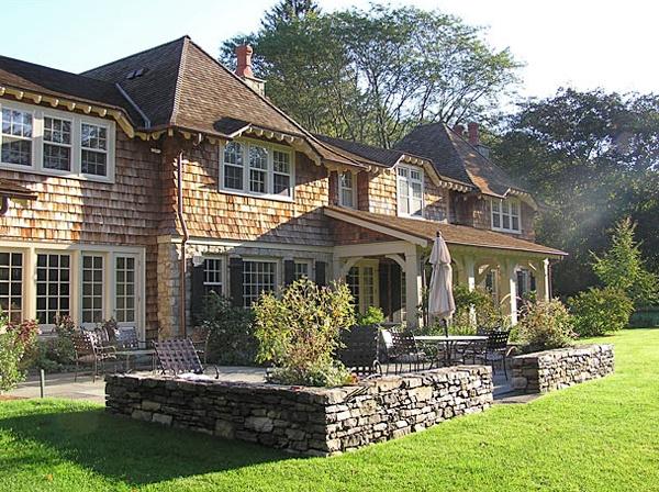 Cedar Shingle Stone Future Home Pinterest