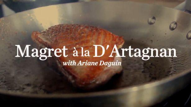 VIDEO: Making Magret à la D'Artagnan | SAVEUR