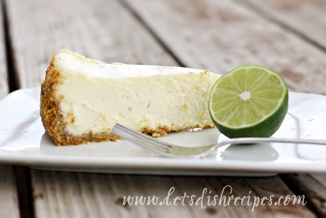 Key Lime Cheesecake | Recipe