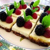 Lemon Cheesecake Squares with Fresh Berries | Recipe