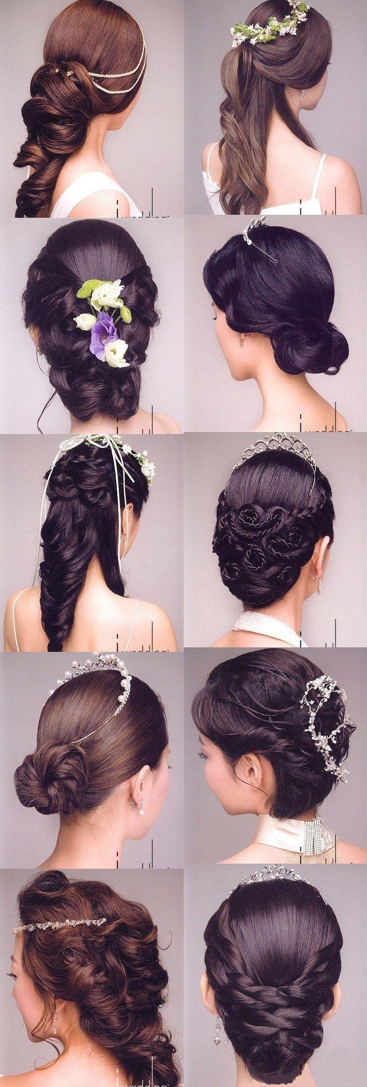 Прически на длинные волосы своими руками пошагово на свадьбу
