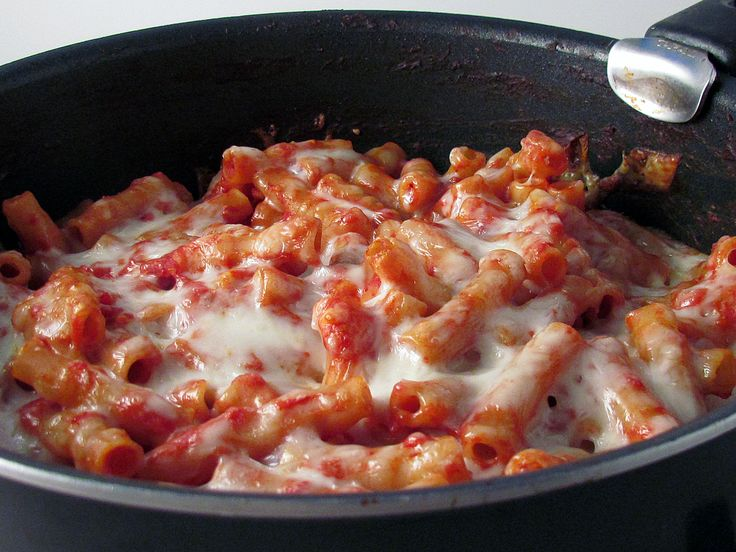 College Cooking 101: Skillet Baked Ziti | College Cookin' | Pinterest