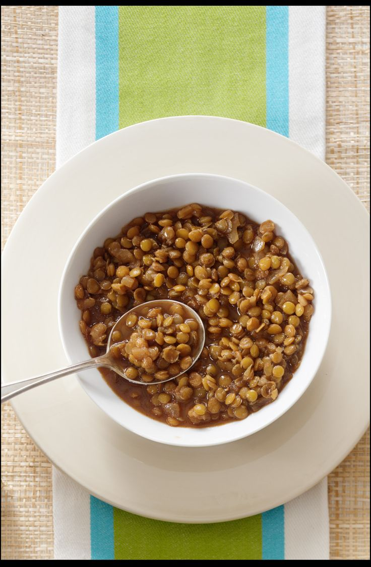 Tangy Barbecue Lentils @kellyjbrown it's tangy!