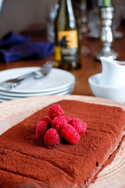 Vegan Chocolate Truffle Cake | Food | Pinterest