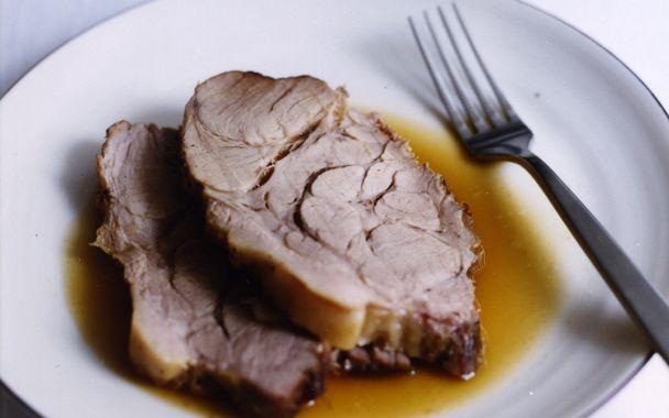 Maiale al Latte (Pork Roast Braised with Milk and Fresh Herbs): 2000s ...