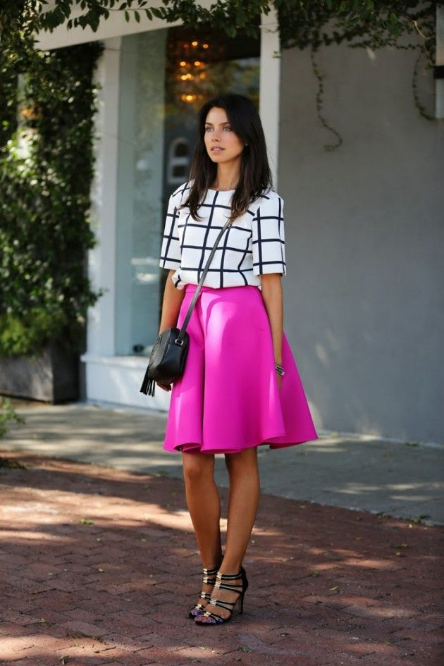 16 ideas with a midi skirt