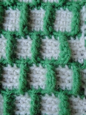 Crochet Outline Stitch : crochet pattern for Outline Squares crochet stitches and tutorial?