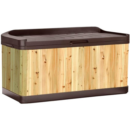 Tyler deck storage bench living outside pinterest Deck storage bench