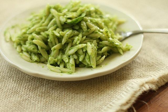 related recipes whole wheat orzo broccoli pesto salad with lemon creme ...