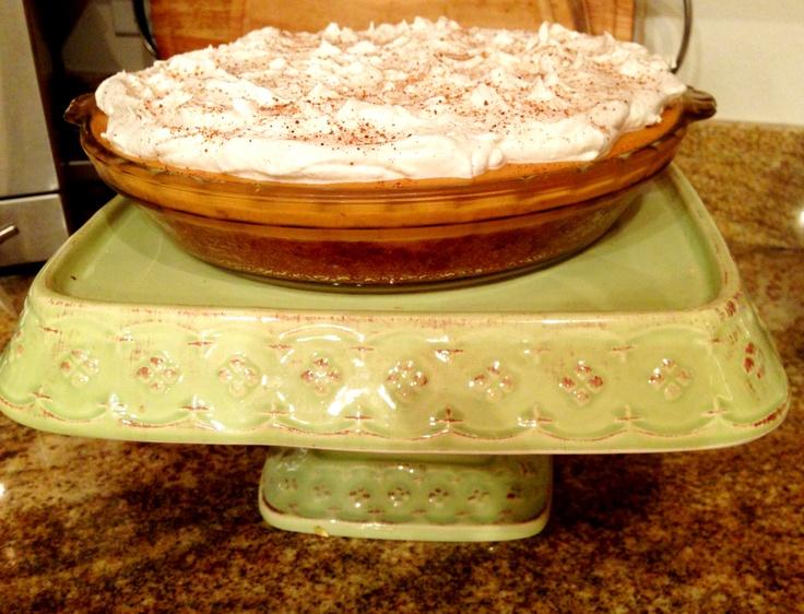 My Pumpkin Icebox Pie...thanks for the recipe Pinterest!