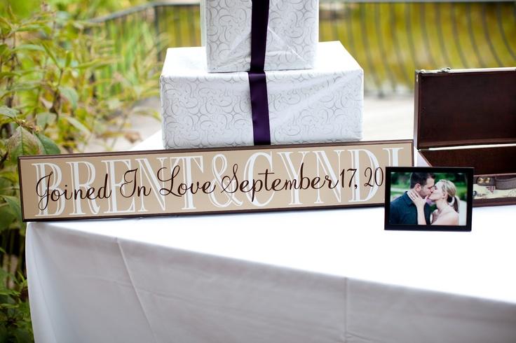 Wedding Gift Table Sign : Wedding Gift Table Sign