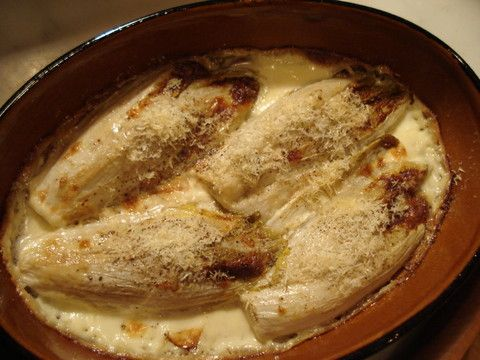 Endive Gratin, (double yum!!) | Side Dishes and Sauces | Pinterest