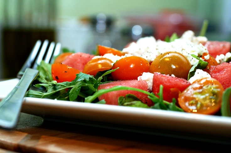 and feta salad tomato and watermelon salad with feta cheese watermelon ...