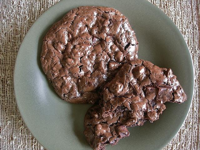 My Little Bungalow-Flourless Chocolate Pecan Cookies