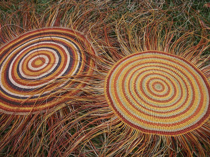 Basket Weaving Aboriginal : Aboriginal basket weaving pattern design