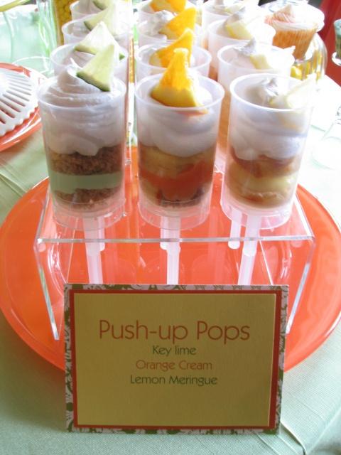 Push-Up Pops: Lemon Meringue Pie. Key Lime Pie and Orange Creme Pie ...
