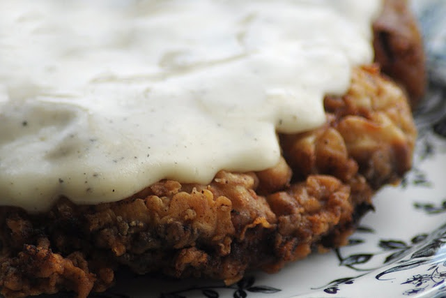 Chicken Fried Steak with a Cream Gravy | Dinner ideas | Pinterest