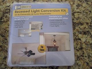 recessed light conversion kits at lowes home pinterest. Black Bedroom Furniture Sets. Home Design Ideas