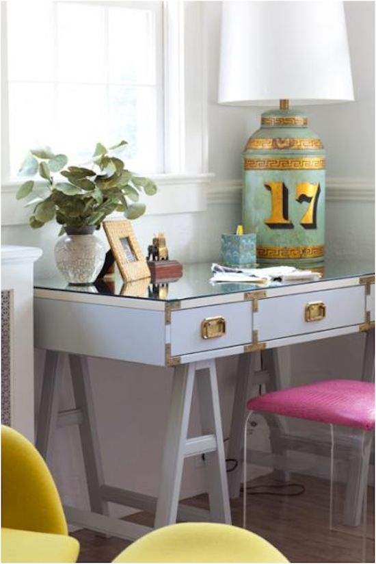 The Zhush, love the palate- mint, pale blue, bright pink and rich yellow
