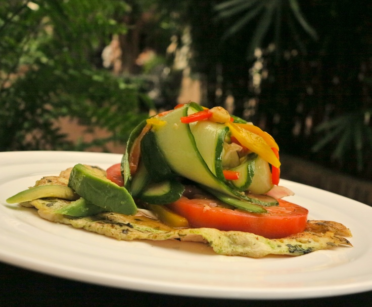 Fried Chicken With Vine-Ripened Tomato Salad Recipe — Dishmaps