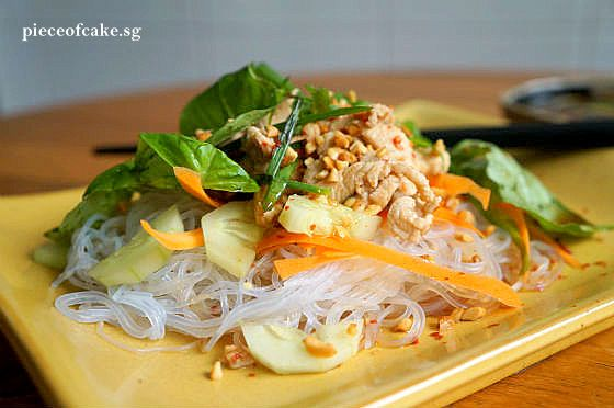 Thai Chicken and Noodle Salad | asian inspired | Pinterest