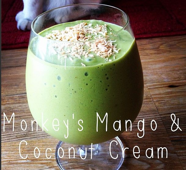 monkey s mango amp coconut cream from the tone it up nutrition plan ...