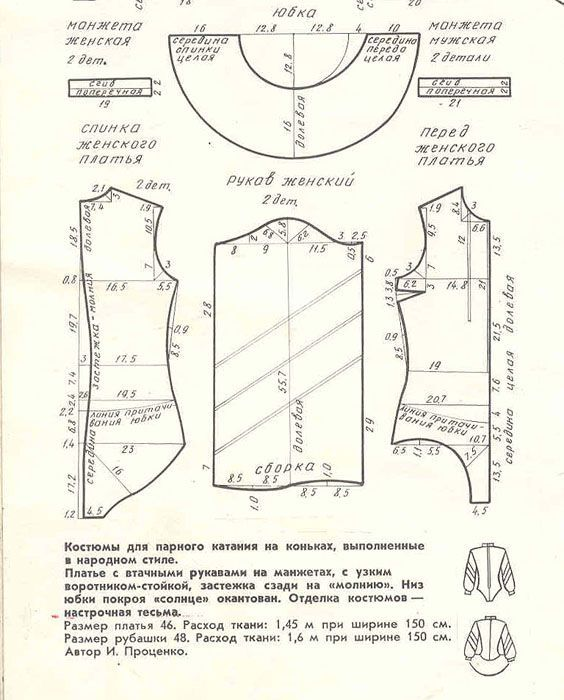 Как сшить бальное платье своими руками 23
