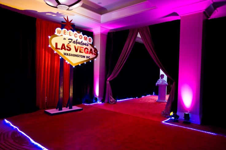 Las vegas themed birthday party image inspiration of