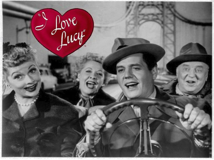 1951 1957 I Love Lucy Television Comedy Series