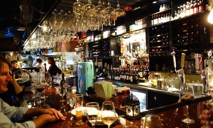 Bar at scratch