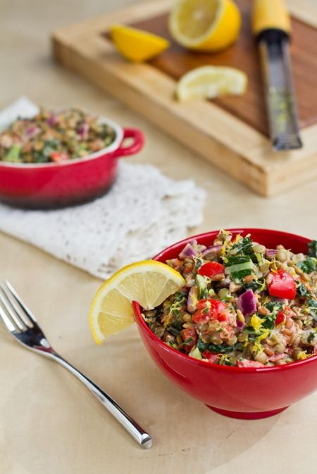 Lightened Up Protein Power Goddess Bowl | Foodie | Pinterest