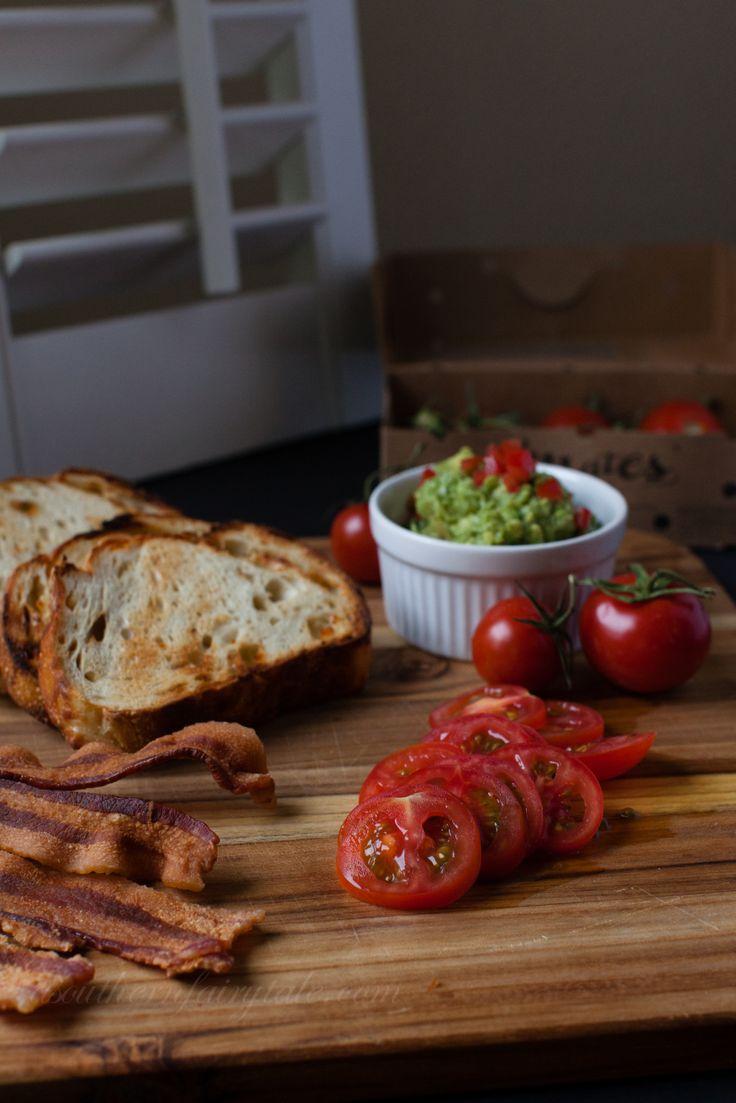 The Ultimate B.G.T Sandwich (Bacon Guacamole Tomato) | Recipe