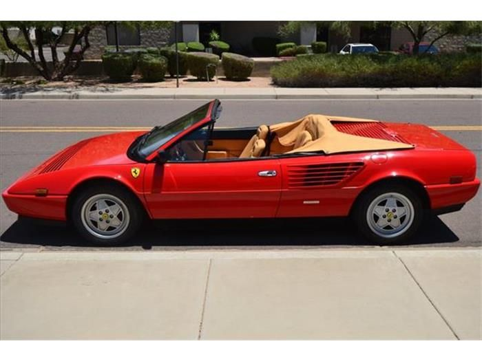 for sale 1988 ferrari mondial ferrari pinterest. Cars Review. Best American Auto & Cars Review