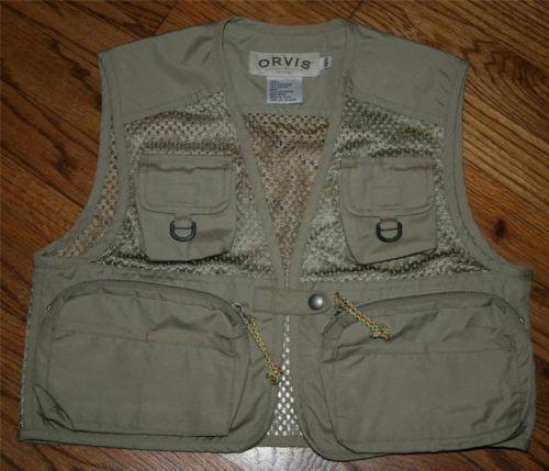 Fishing Vest Mesh One Snap Jacket Safarifishhuntingyouth Size 140