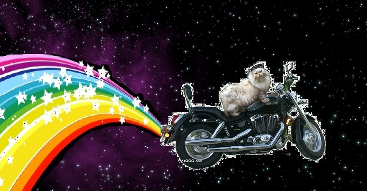 space motorcycle