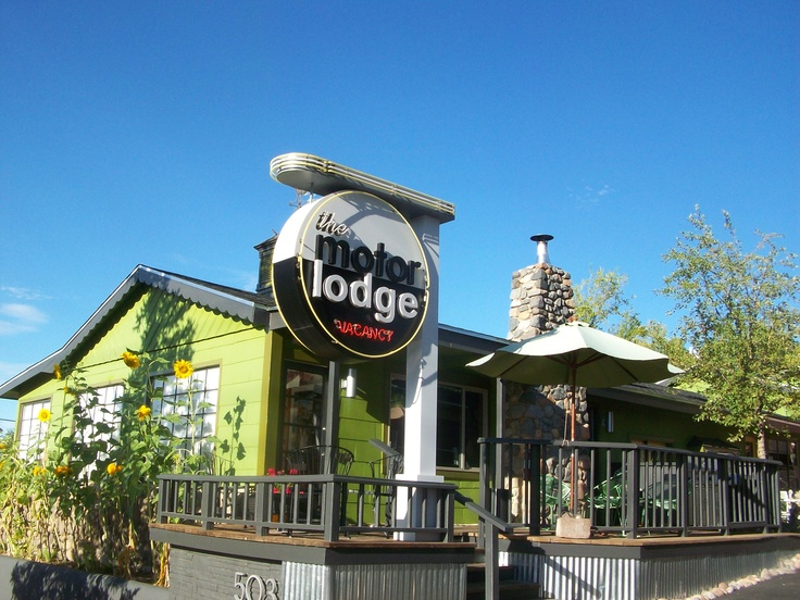 motor lodge in prescott az northern az pinterest