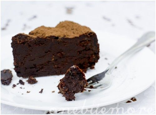 Dark Chocolate Espresso Mousse Cake | Food & Drank | Pinterest