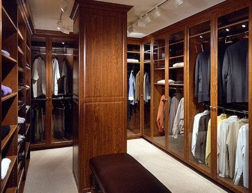 Master closet modern closet closet directory pinterest for Pictures of master bedroom closets