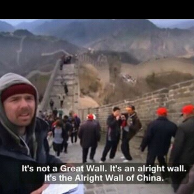 An Idiot Abroad (that's what this show is actually called) At first ...