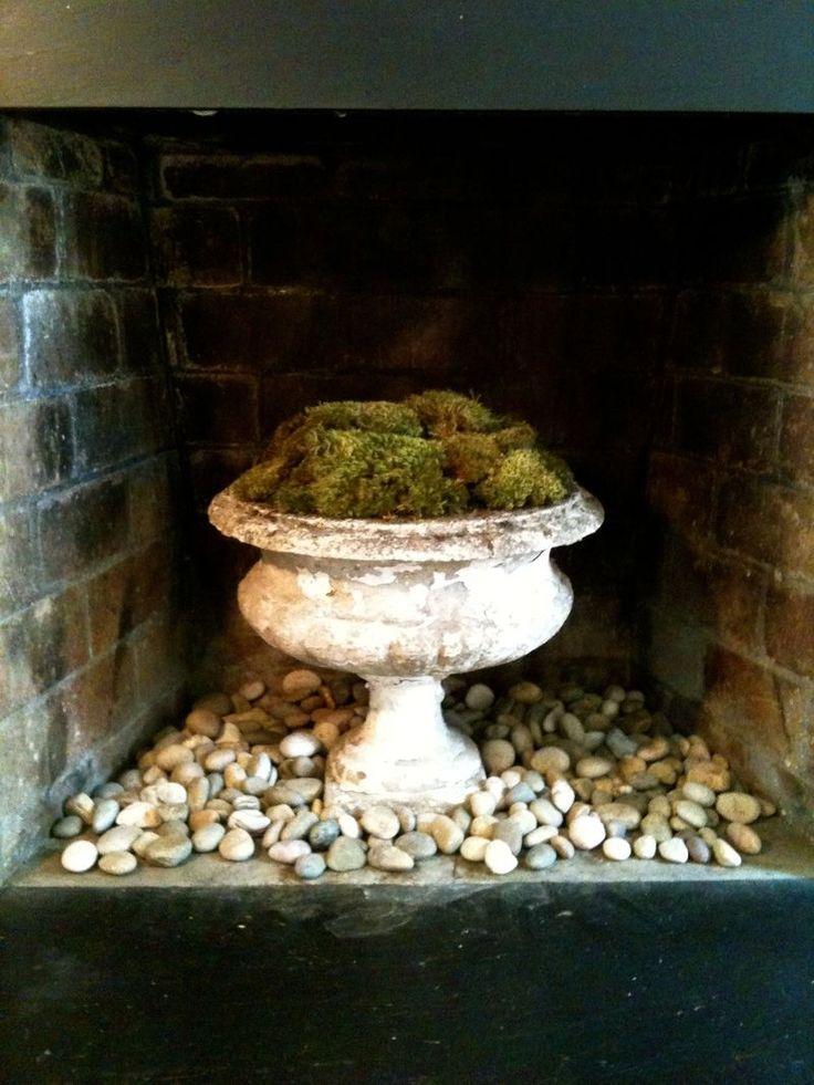 unused fireplace diy home ideas pinterest