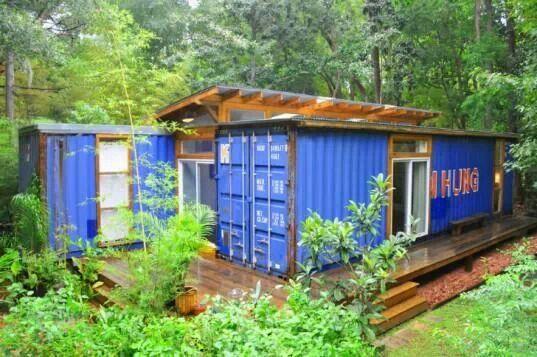 Container Villa Spring Bluff Cabin Ideas Pinterest