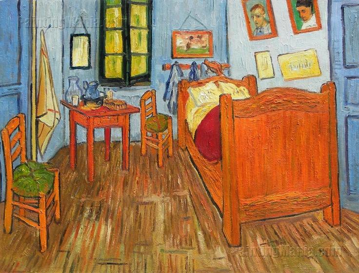 vincent 39 s bedroom in arles art inspiration pinterest