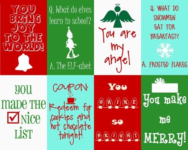 Christmas coupon printables